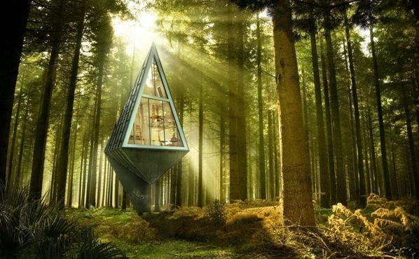 Serait-ce la maison de l'avenir?